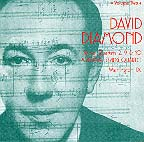 David diamond volume 2 cd cover