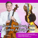 Steven Honigberg and Audrey Andrist album cover